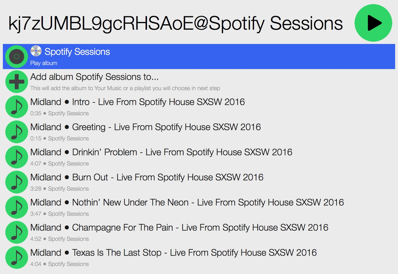 how to get spotify to play what you want